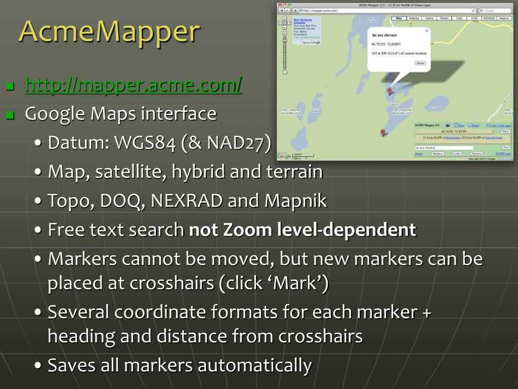 AcmeMapper