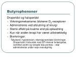 butyrophenoner
