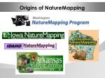 origins of naturemapping