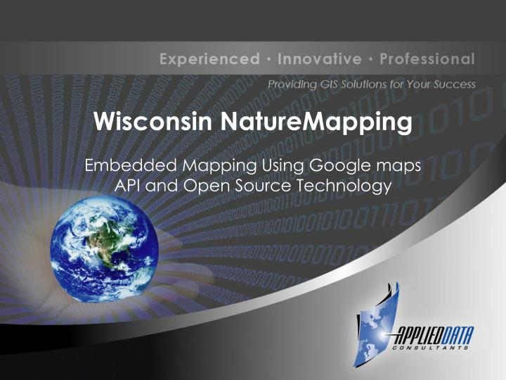 wisconsin naturemapping n.