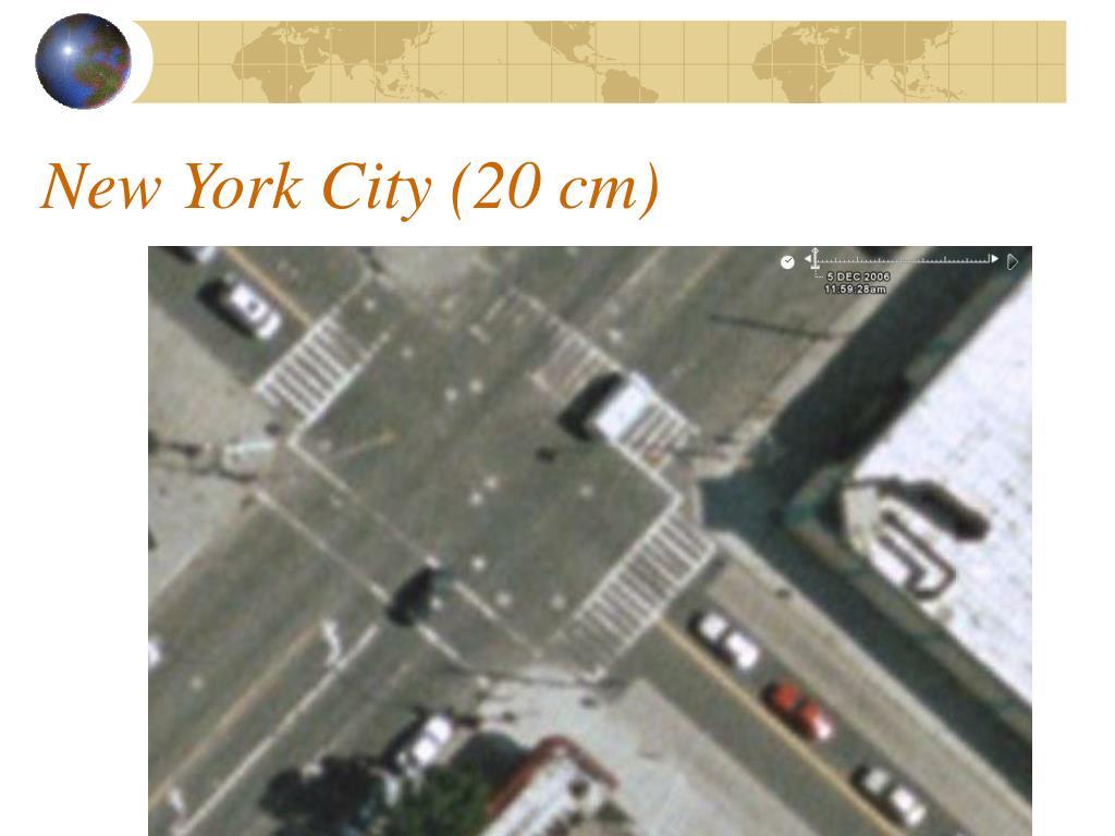 New York City (20 cm)