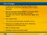 new at google
