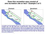 does this recreation area consist of one recreation site or two example 3 of 3