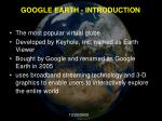 google earth introduction