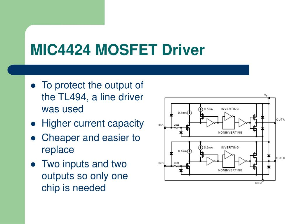 MIC4424 MOSFET Driver