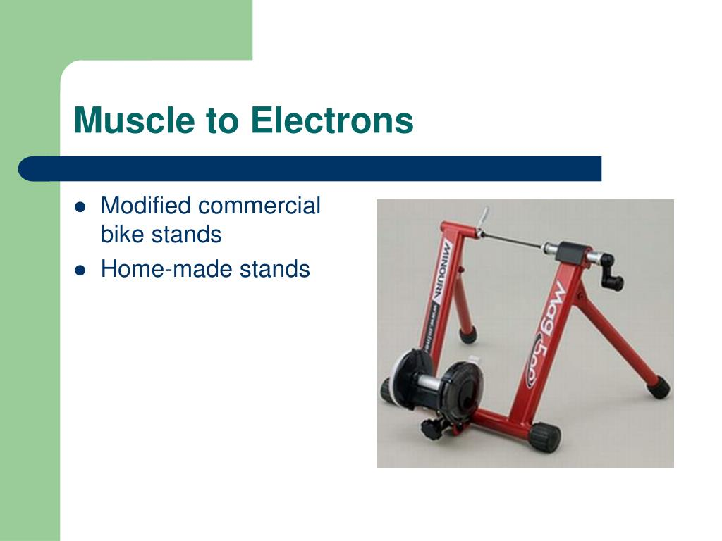 Muscle to Electrons