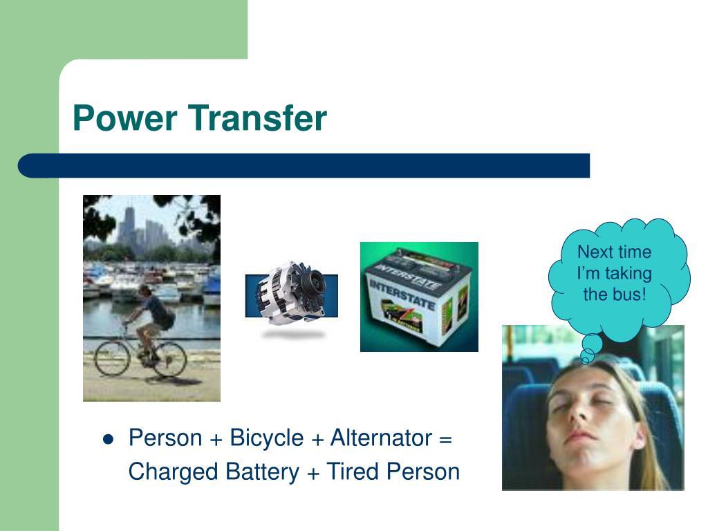 Power Transfer