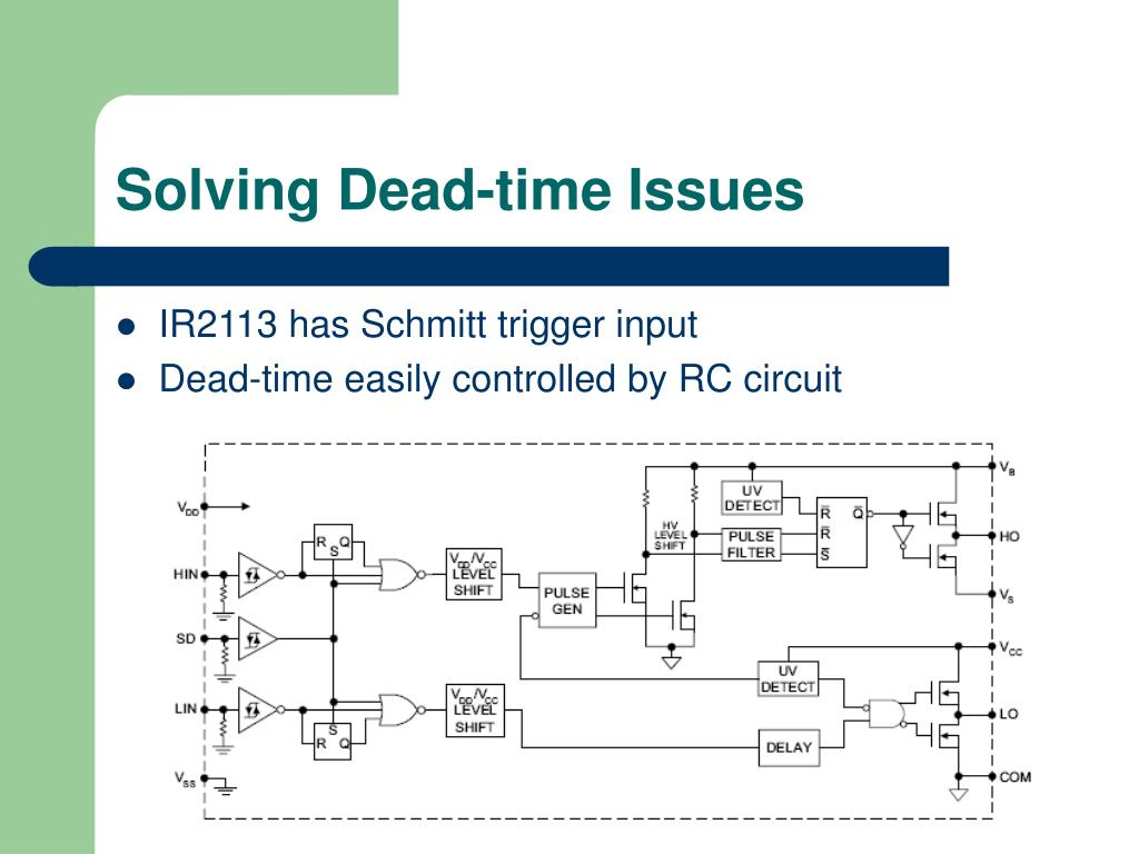 Solving Dead-time Issues