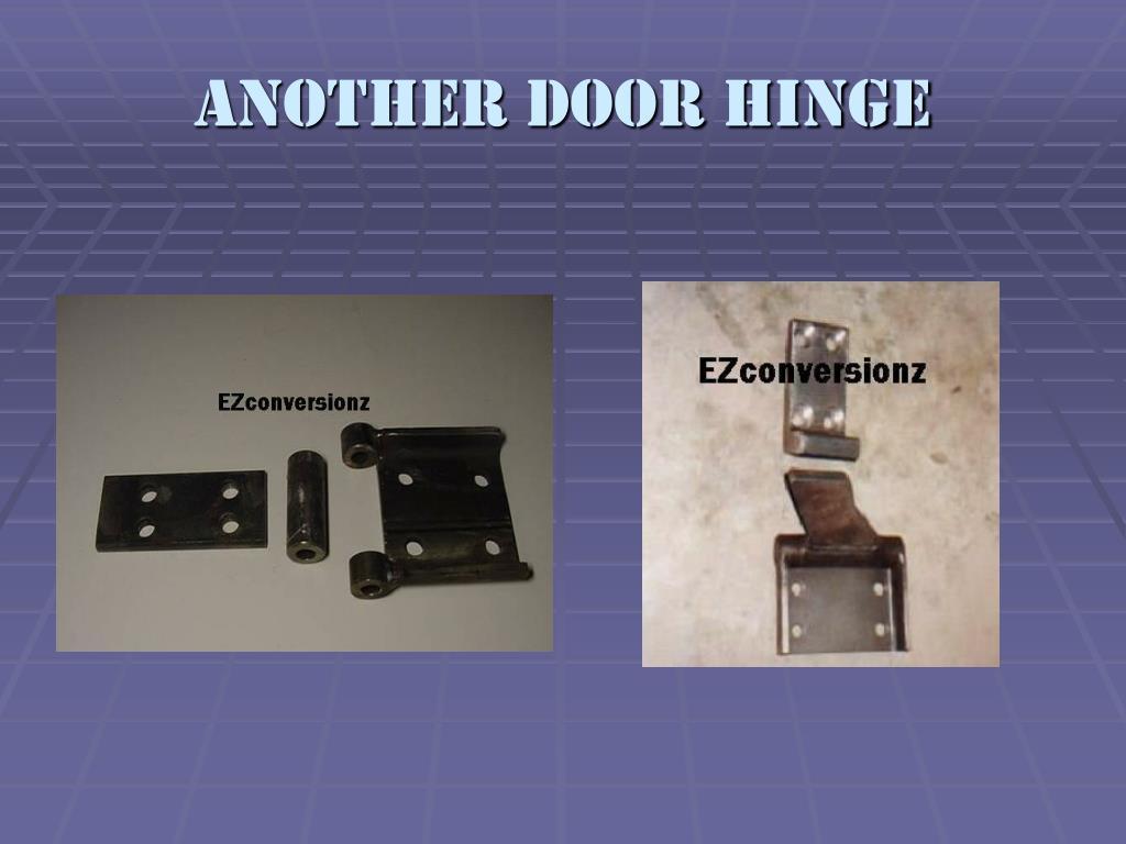 Another door hinge