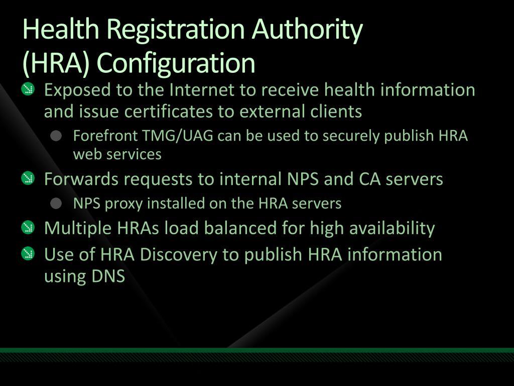 Health Registration Authority