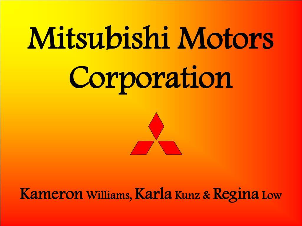 mitsubishi motors corporation l.