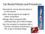 car rental policies and procedures6