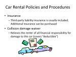 car rental policies and procedures9