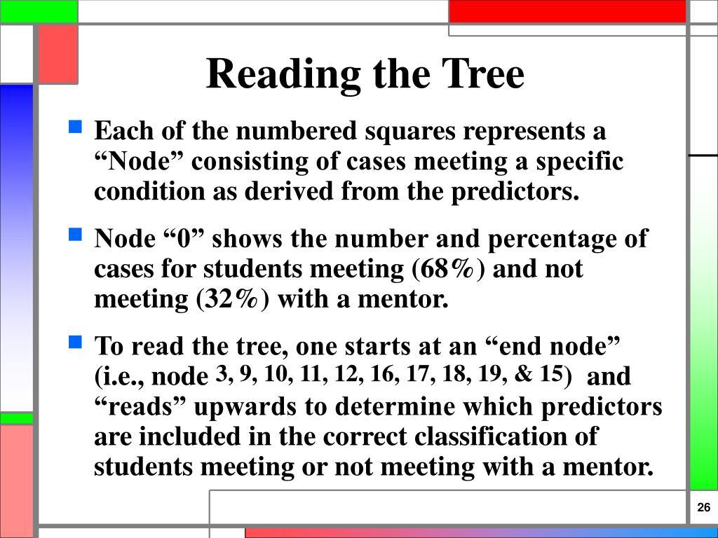 Reading the Tree