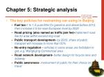 chapter 5 strategic analys i s17