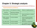 chapter 5 strategic analys i s20
