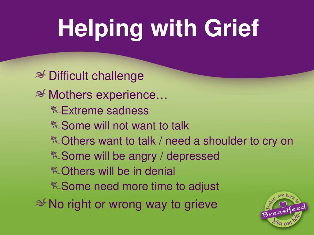 Helping with Grief