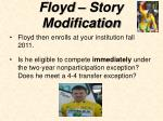 floyd story modification27