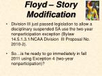 floyd story modification28