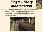 floyd story modification29