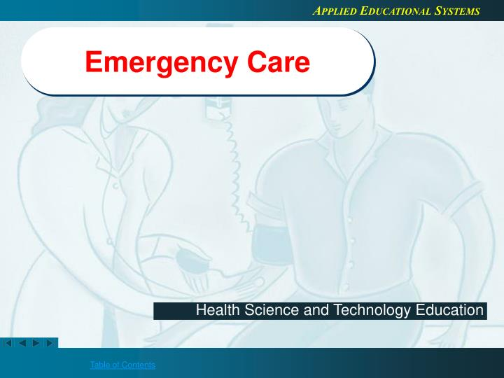 emergency care n.