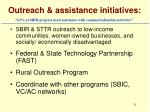 outreach assistance initiatives