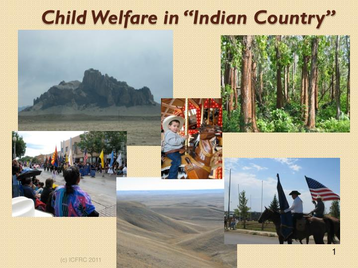 child welfare in indian country n.