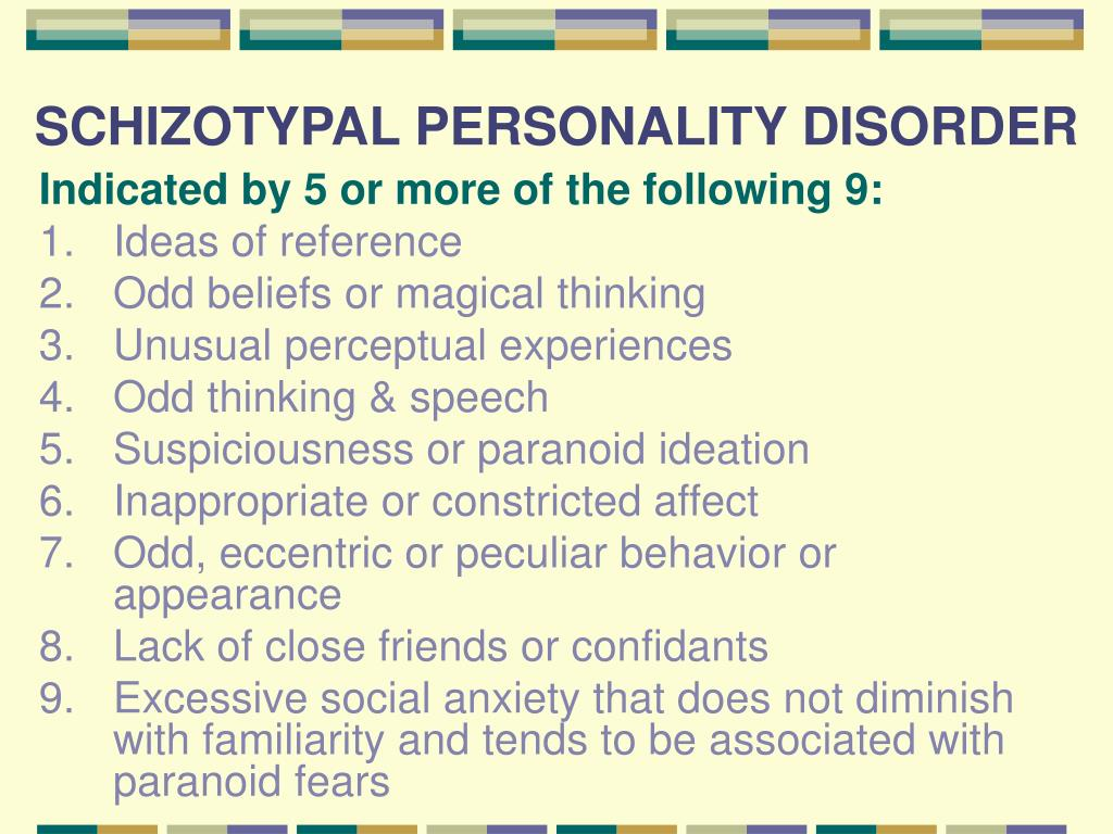 PPT , PERSONALITY DISORDERS PowerPoint Presentation , ID455696