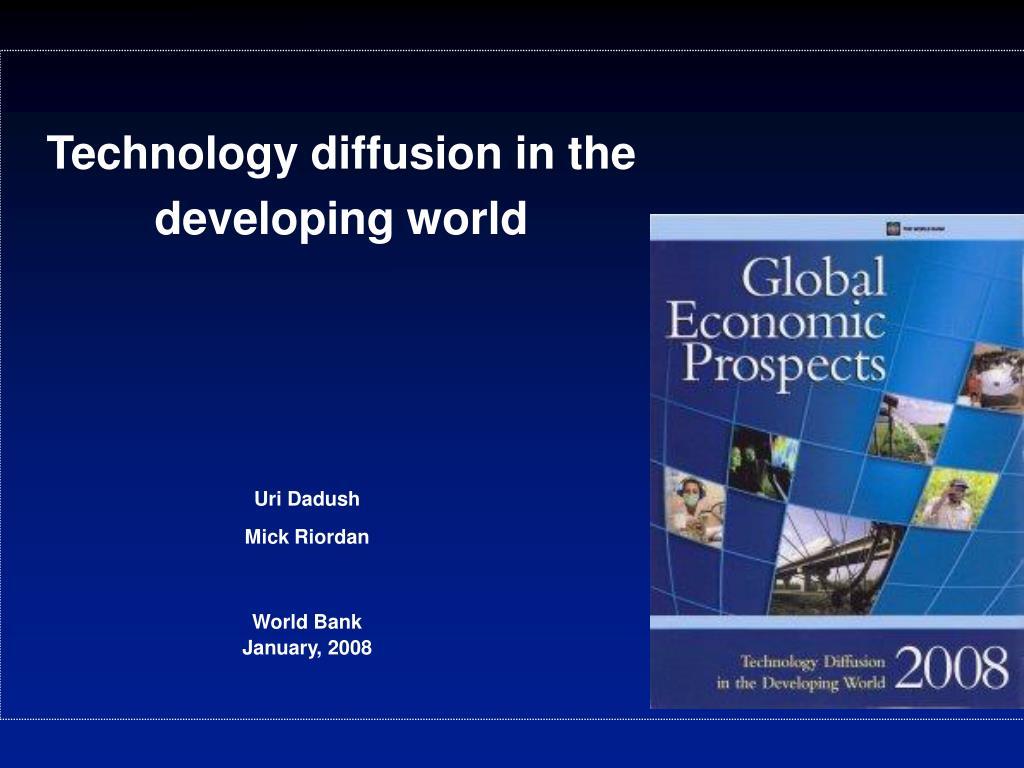 uri dadush mick riordan world bank january 2008