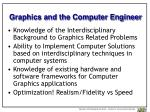 graphics and the computer engineer
