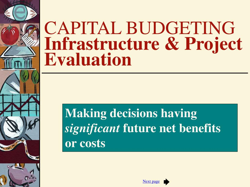 capital budgeting technology