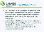 the carmen project
