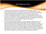 web designing history
