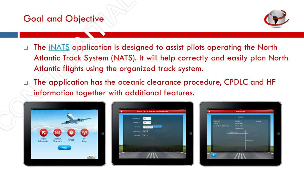 PPT - iNATS: iPad App Guide for North Atlantic Tracks System