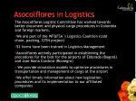 asocolflores in logistics