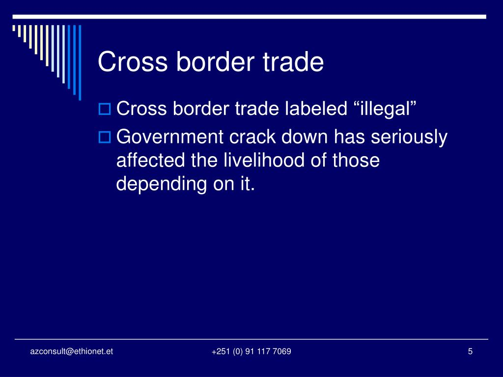 Cross border trade