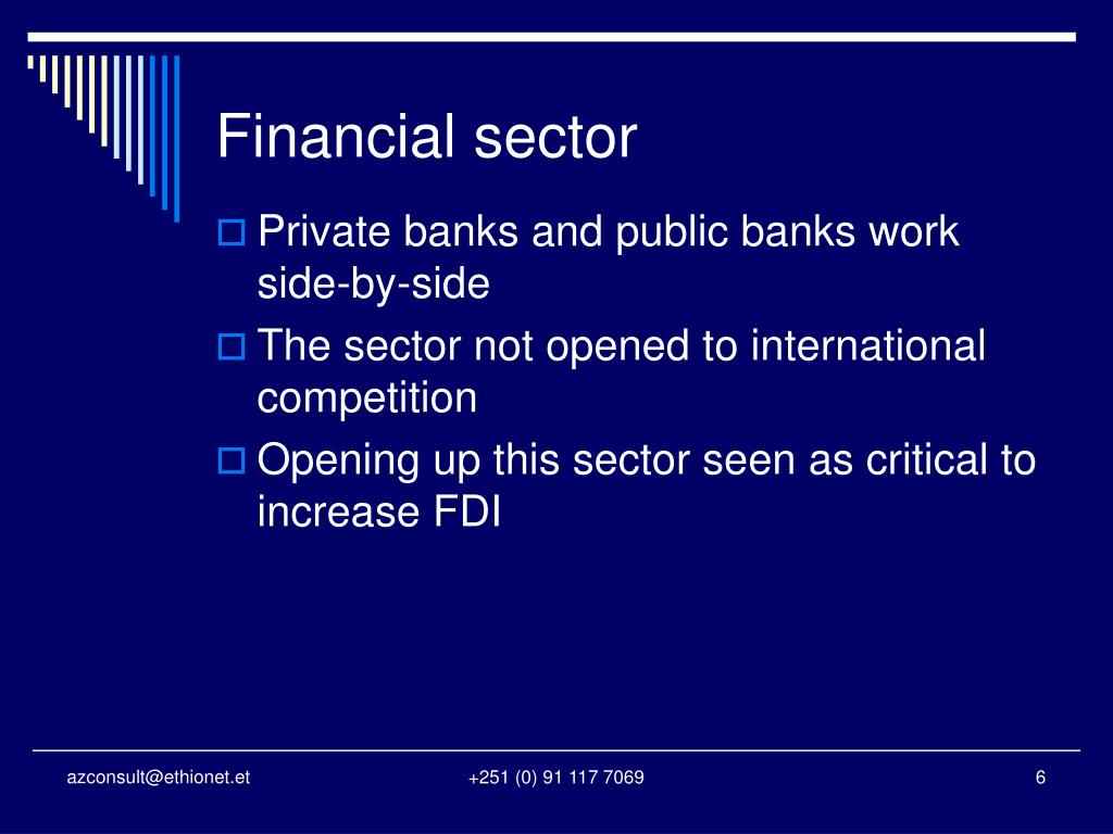 Financial sector