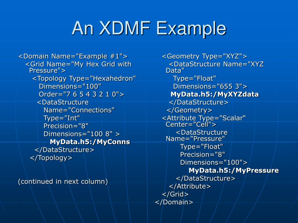 "<Domain Name=""Example #1"">"