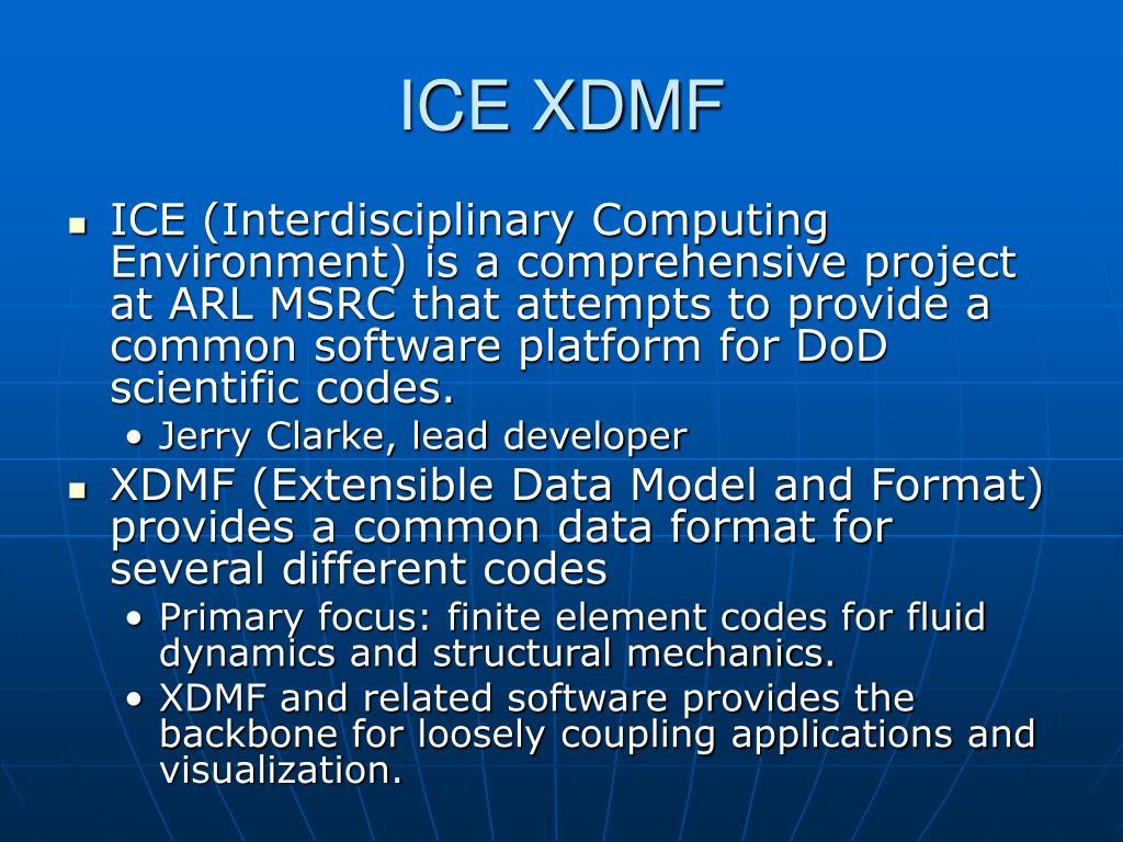 ICE XDMF