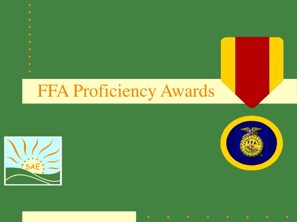 ffa proficiency awards l.