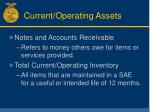 current operating assets31