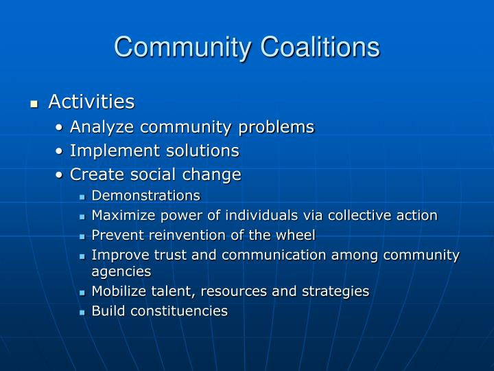 Community coalitions3