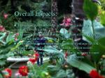 overall impacts