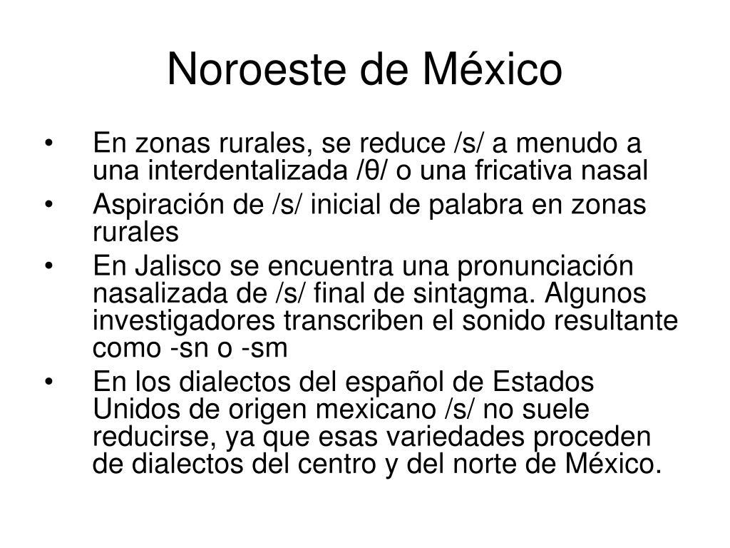 Noroeste de México
