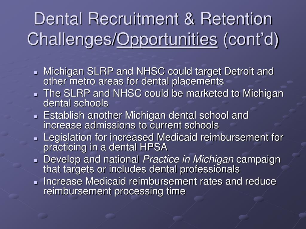 Dental Recruitment & Retention Challenges/