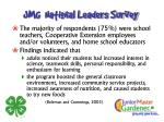 jmg national leaders survey