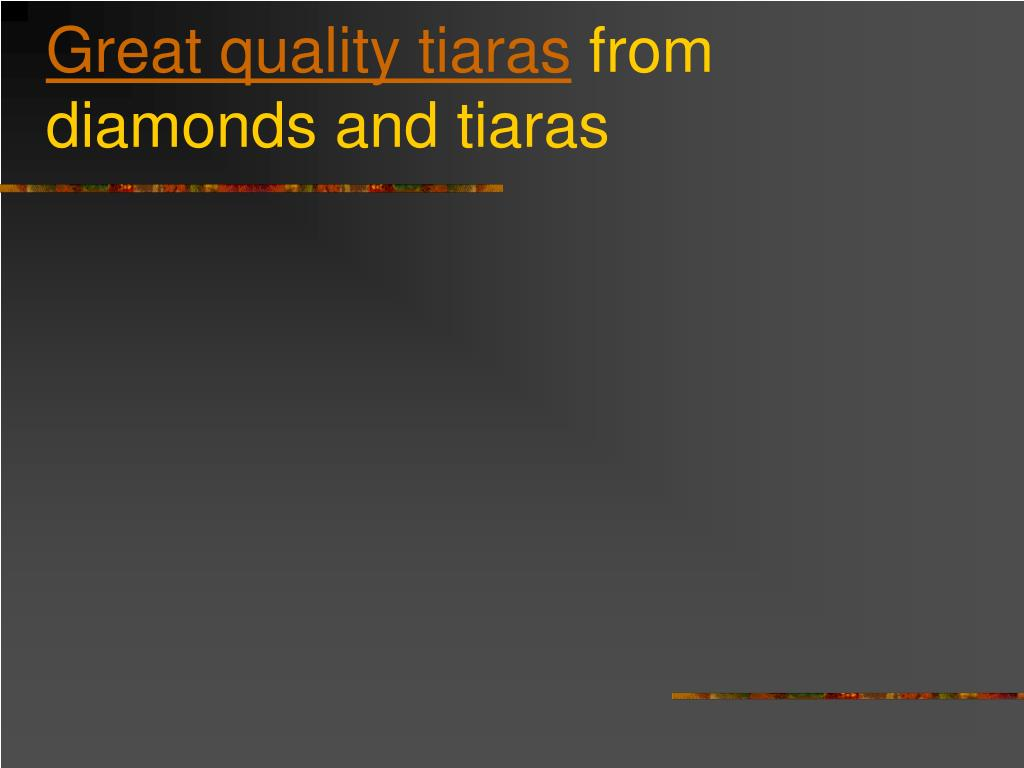 great quality tiaras from diamonds and tiaras l.