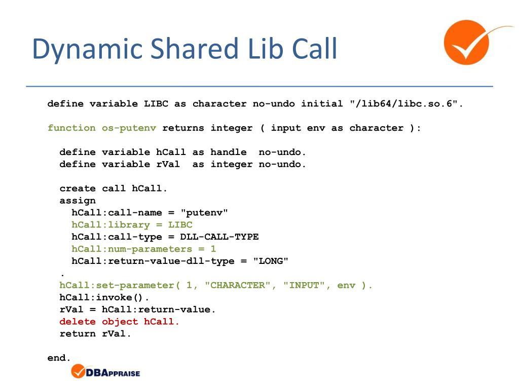 PPT - Hidden Gems: UNIX Shared Libraries PowerPoint Presentation