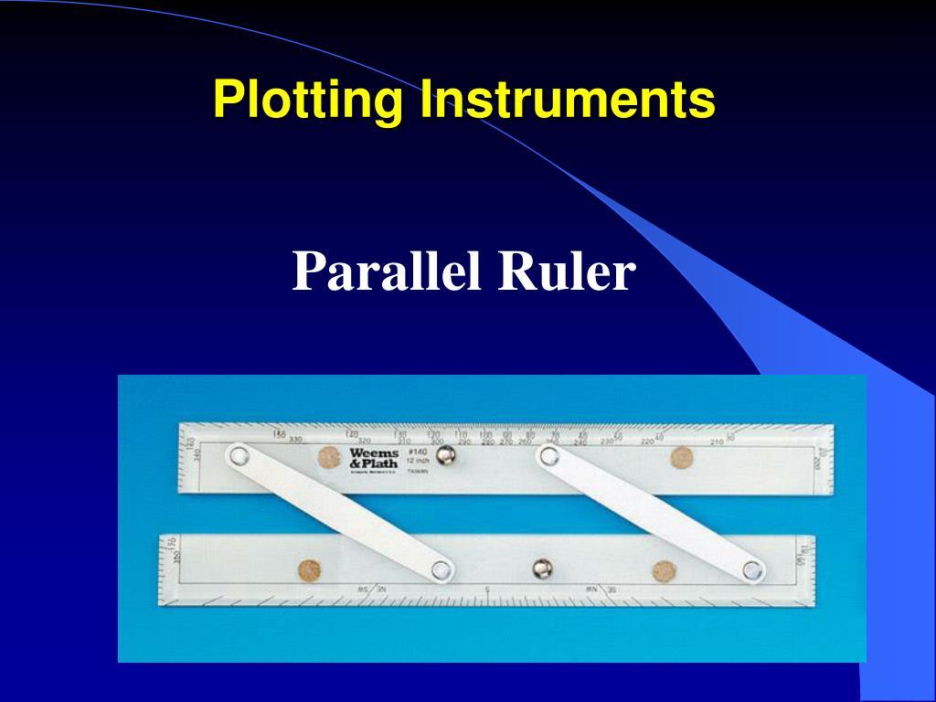 Plotting Instruments
