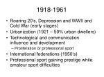 1918 1961